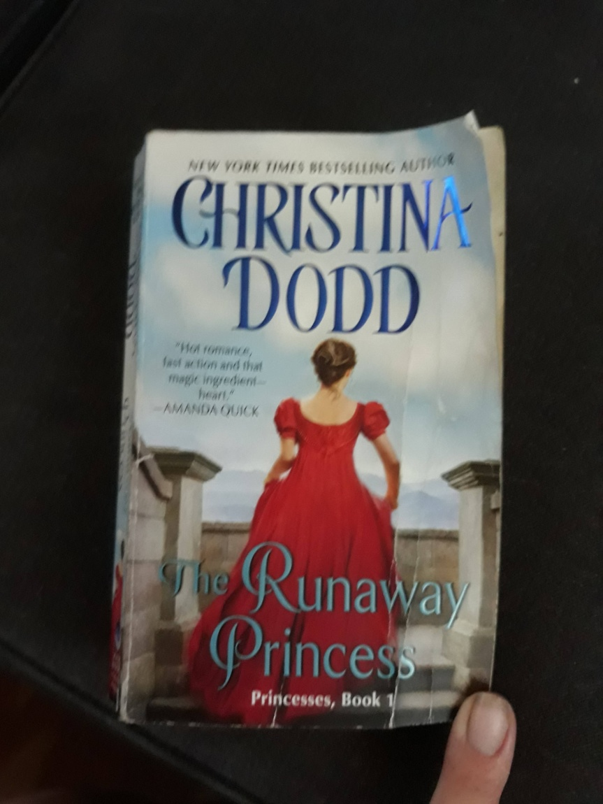 The Book I Read This Week? The Runaway Princess by Christina Dodd