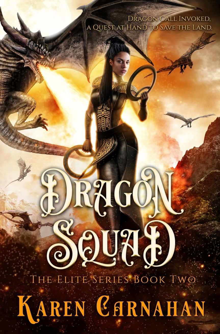 The Elite Series Book Two—Dragon Squad Pre-sale
